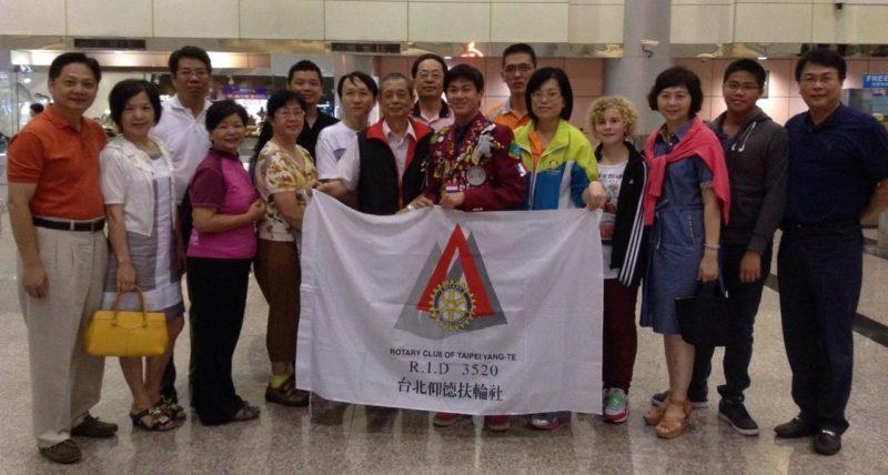 2013 RYE 交換學生 台灣學生出國送機 -